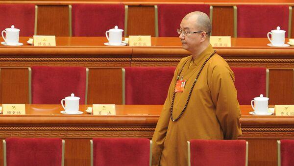 čínský buddhista Shi Xuecheng - Sputnik Česká republika