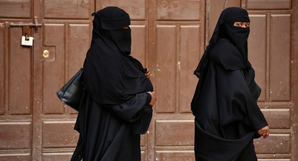 Ženy v nikábech. Ilustrační foto