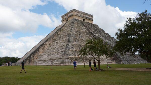 Mayská pyramida v Mexiku - Sputnik Česká republika