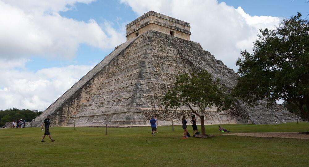 Mayské civilizační město Chichén Itza v Mexiku