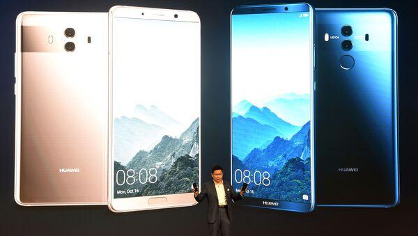 Prezentace nového chytrého telefonu Huawei Mate 10 - Sputnik Česká republika