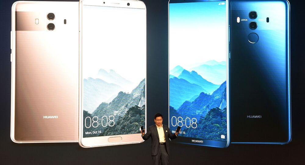Prezentace nového chytrého telefonu Huawei Mate 10