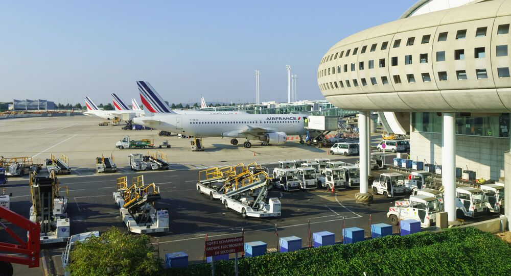 Letiště Charlese de Gaulla v Paříži