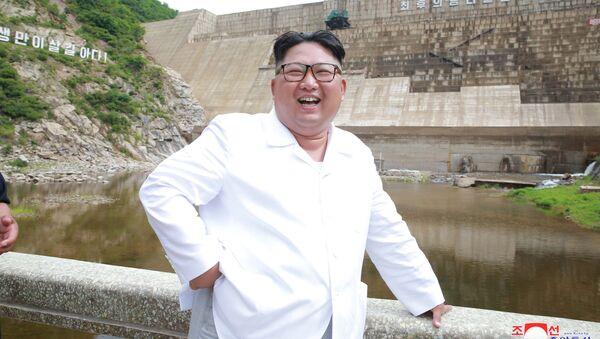 Severokorejský vůdce Kim Čong-un - Sputnik Česká republika