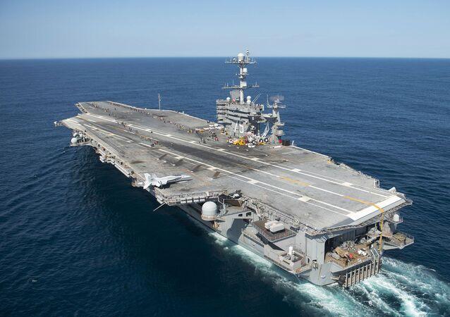 Americká letadlová loď Harry Truman