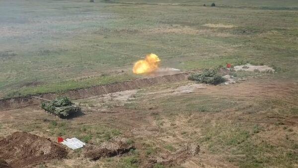 """""""Syrská hřídel"""" byla spatřena na cvičení tankistů DLR - Sputnik Česká republika"""