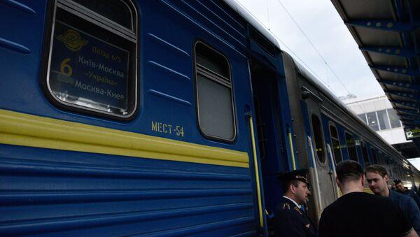 Vlak Kyjev - Moskva - Sputnik Česká republika