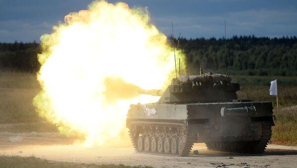 Samohybné protitankové dělo 2S25M Sprut-SDM-1 - Sputnik Česká republika