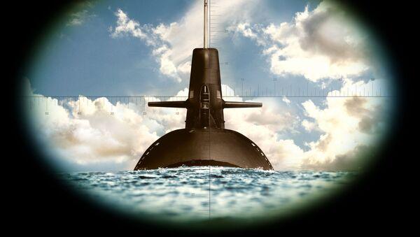 Ponorka přes dalekohled - Sputnik Česká republika