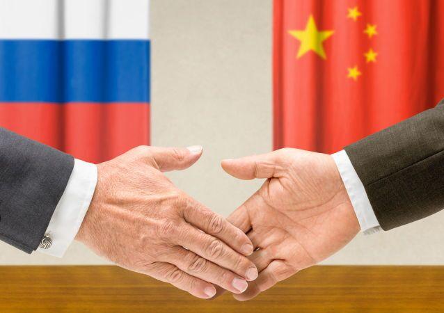 Rusko-čínská spolupráce. Ilustrační foto