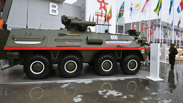 Obrněný transportér BTR-87 - Sputnik Česká republika