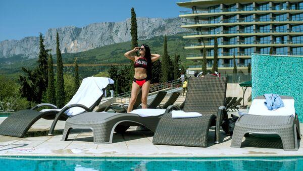Pětihvězdičkový hotel Mriya Resort & Spa v Jaltě, Krym - Sputnik Česká republika