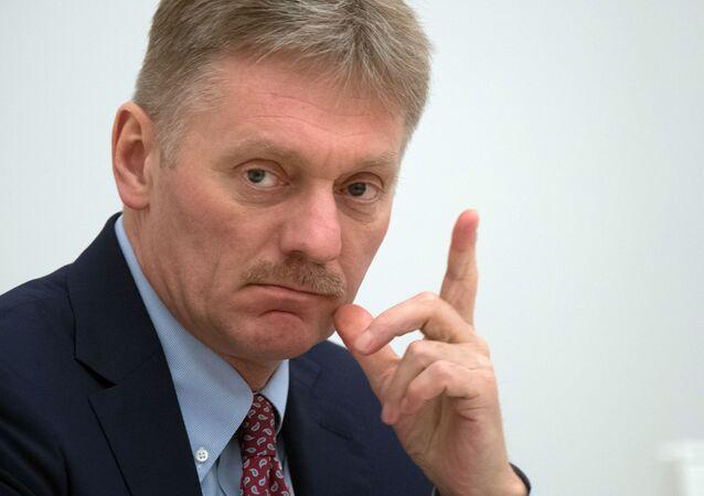 Tiskový mluvčí ruského prezident Dmitrij Peskov