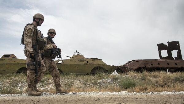 Čeští vojáci hlídkují v Afghánistánu. Archívní foto - Sputnik Česká republika