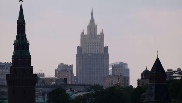 Budova ruského ministerstva zahraničních věcí v Moskvě - Sputnik Česká republika