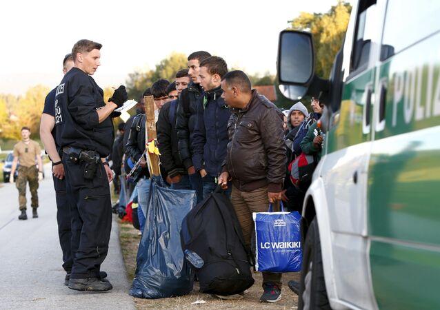 Běženci v Německu