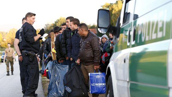 Běženci v Německu - Sputnik Česká republika