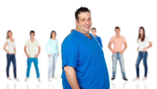 Muž s nadváhou - Sputnik Česká republika
