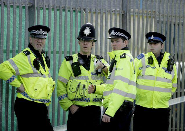 Britští policisté v Salisbury