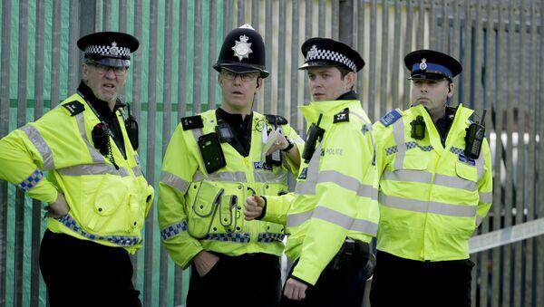 Britští policisté v Salisbury - Sputnik Česká republika
