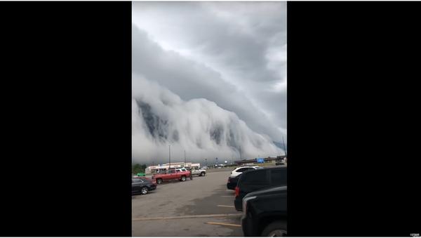Obyvatelé Illinois natočili apokalyptický mrak - Sputnik Česká republika