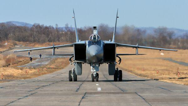 Ruská stíhačka MiG-31 - Sputnik Česká republika