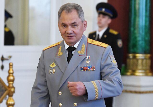 Ruský ministr obrany Sergej Šojgu v Kremlu