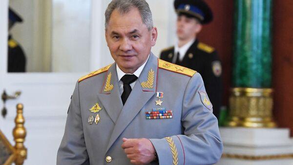 Ruský ministr obrany Sergej Šojgu v Kremlu - Sputnik Česká republika