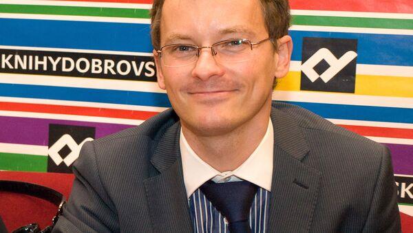 Český ekonom Vladimír Pikora - Sputnik Česká republika