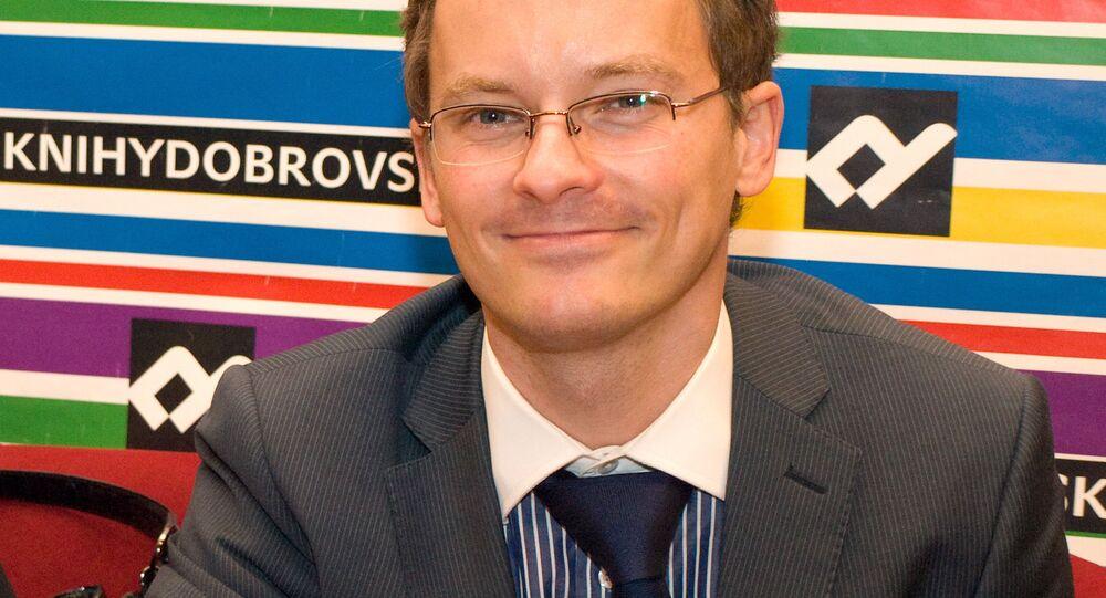 Český ekonom Vladimír Pikora