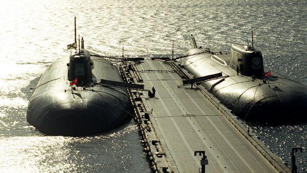 Ruské jaderné ponorky - Sputnik Česká republika