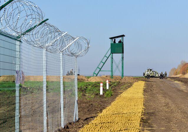 Hranice mezi Ukrajinou a Ruskem