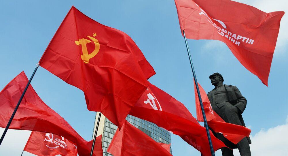 Pomník Lenina v Doněcku