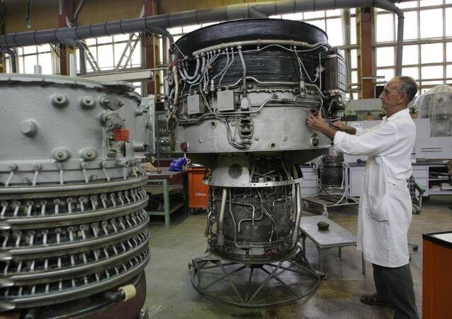 Podnik Motor Sič v Záporoží na Ukrajině