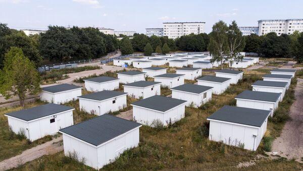 Domy uprchlíků, které se prodávají v Hamburku - Sputnik Česká republika