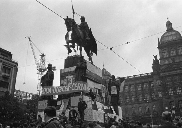 Václavské náměstí, 1968
