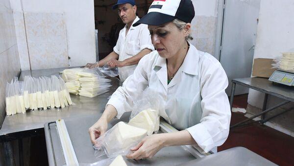 syrská mlékarna - Sputnik Česká republika