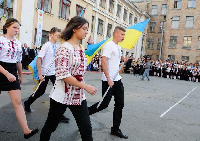 Ukrajinští školáci