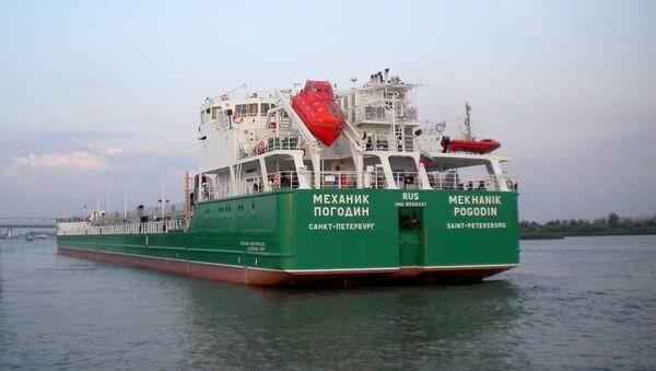 Tanker Mechanik Pogodin - Sputnik Česká republika