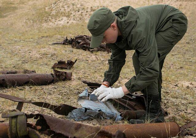 Na ostrově u Petrohradu byl objeven tajný bunkr nacistů. Nálezy jsou ohromující
