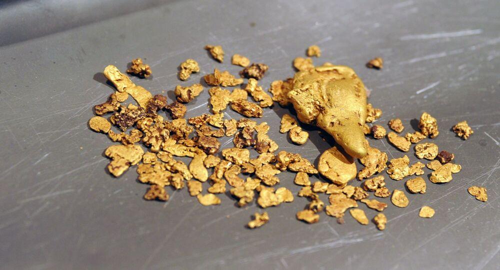 Těžba zlata