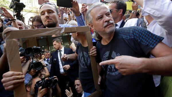 Protest proti Andreji Babišovi 21. srpna 2018 - Sputnik Česká republika