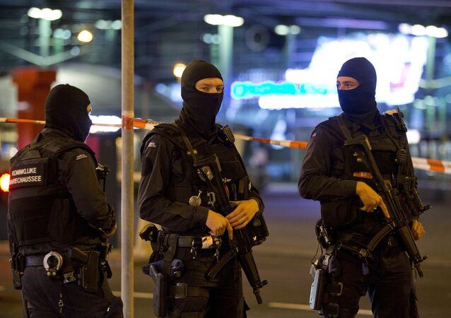 Policie v Amsterodamu