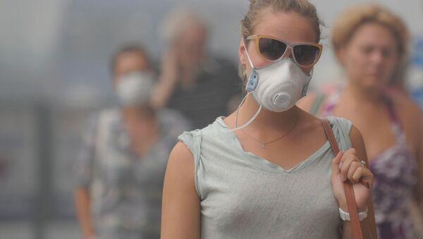 Smog v Moskvě v roce 2010 - Sputnik Česká republika