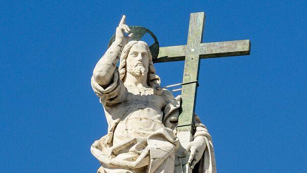 Socha Ježíše Krista - Sputnik Česká republika