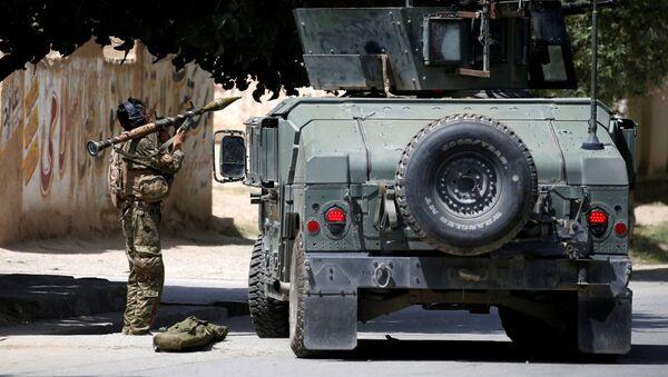 Afghánské bezpečnostní síly v Kábulu - Sputnik Česká republika
