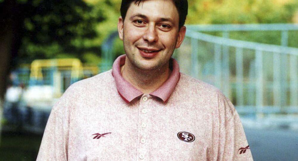 Šéfredaktor portálu RIA Novosti Ukrajina Kirill Vyšinský