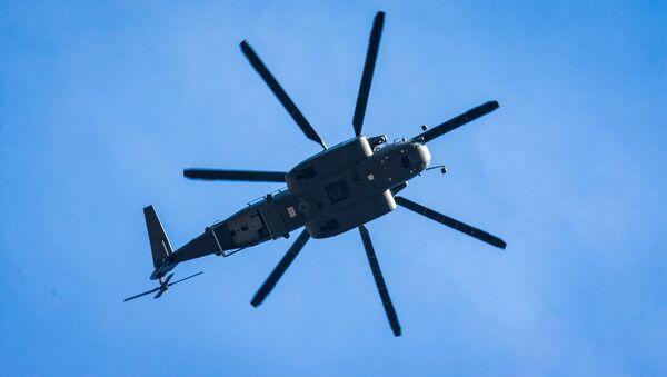 Vrtulník (ilustrační foto) - Sputnik Česká republika