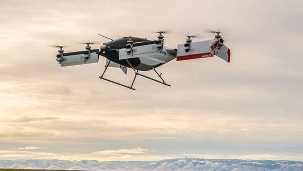 První létající taxi Aplha One projektu společnosti Airbus - Sputnik Česká republika