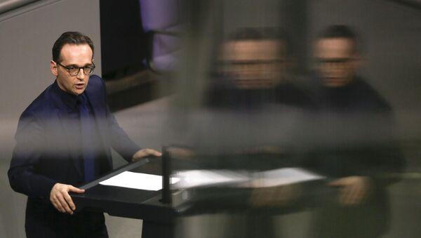 Německý ministr zahraničních věcí Heiko Maas - Sputnik Česká republika